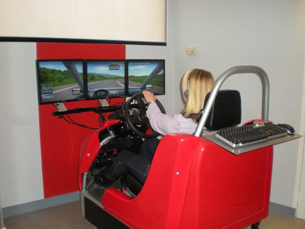simulateur de référence conduite à Angers