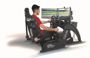 simulateur de conduite à Angers